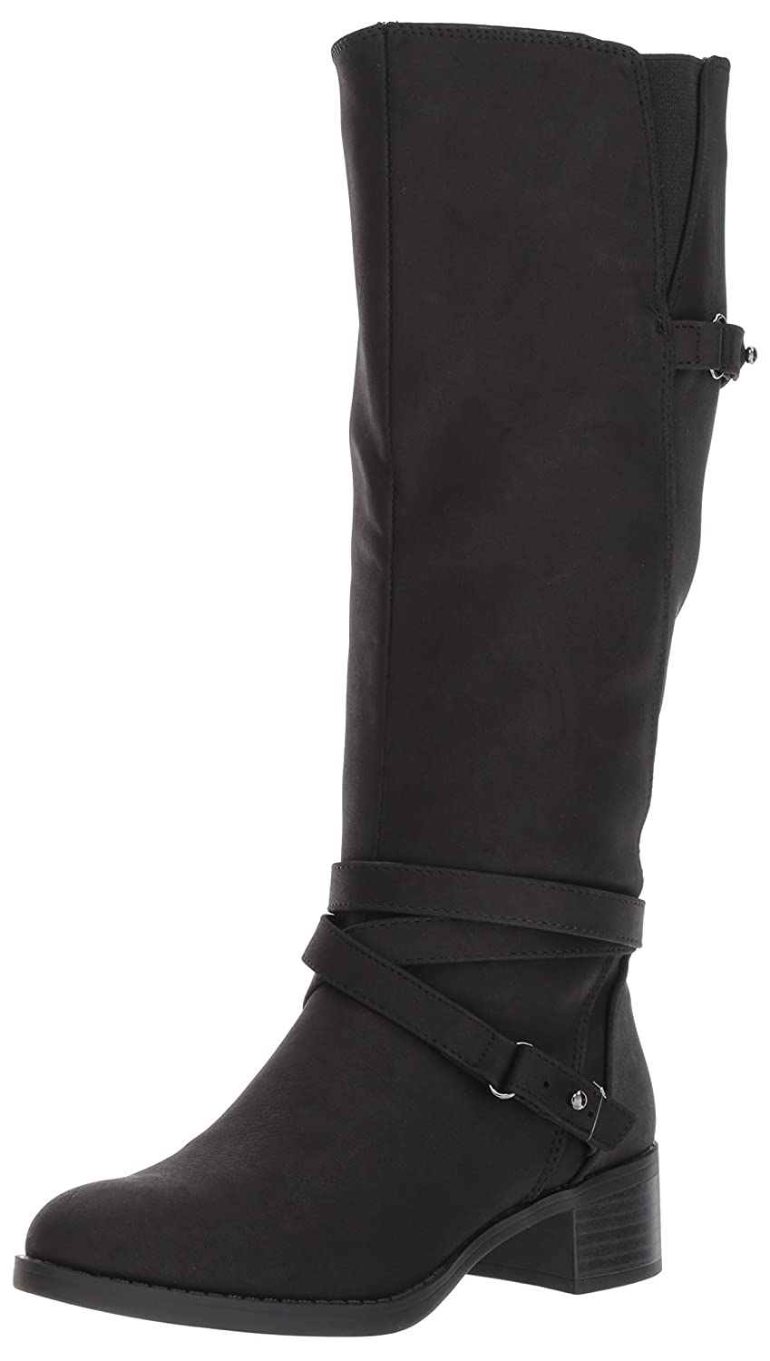 Easy Street Women's Carlita Plus Harness Boot B0728P5QRW 7 W US|Black