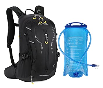 Amazon.com: Cycling Hiking Backpack with 3L Hydration Water ...