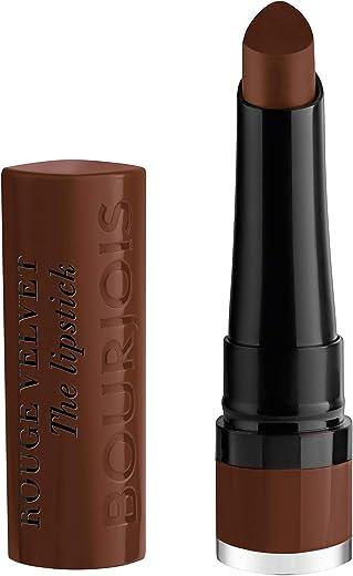 Bourjois Rouge Velvet The Lipstick - 25 Maca'brown, 2.4 gm