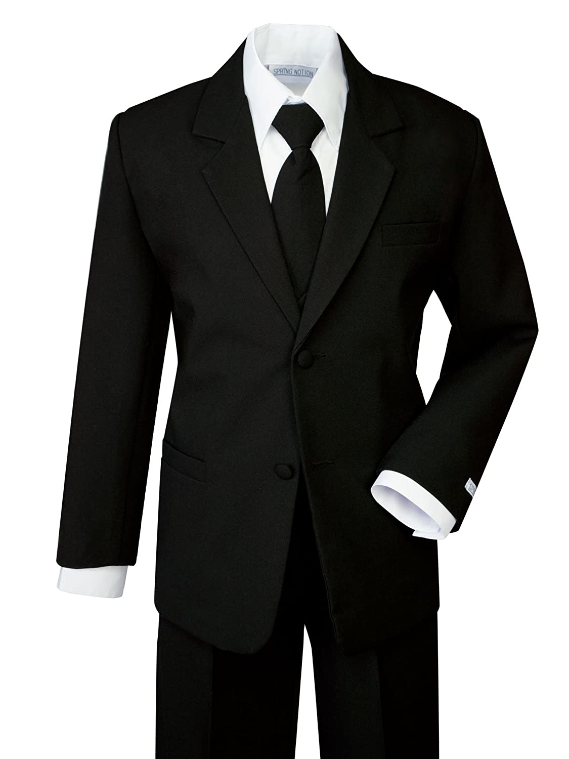 Amazon Com Spring Notion Boys Classic Fit Formal Dress Suit Set