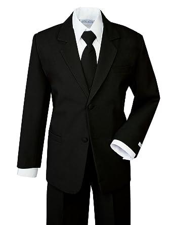 86ca6d8a0e69 Amazon.com: Spring Notion Boys' Classic Fit Formal Dress Suit Set ...