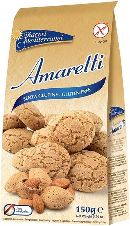Piaceri Mediterranei Amaretti Senza Glutine 150g Amazon It Alimentari E Cura Della Casa