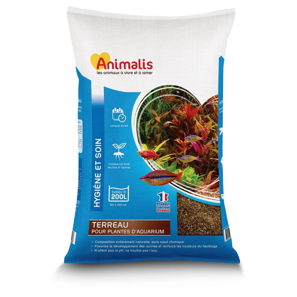 Animalis Terreau pour Aquarium 10L