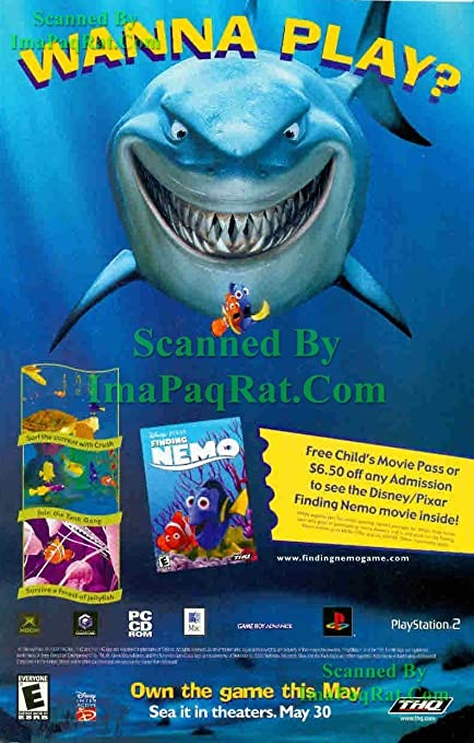Amazon com: Finding Nemo: Movie & Video Game: Wanna Play: Great