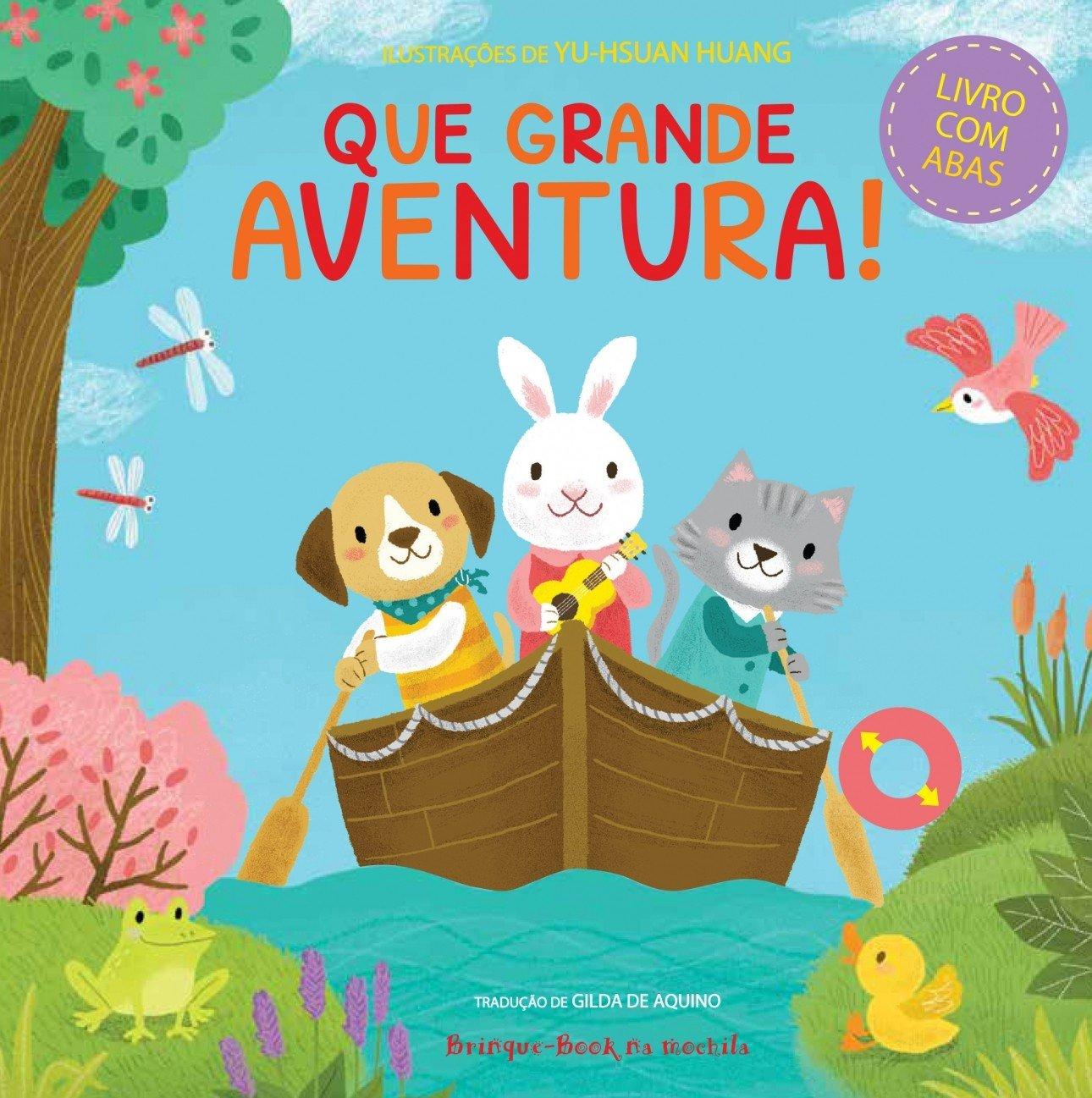 Que Grande Aventura! (Portuguese Brazilian) Board book – 2000
