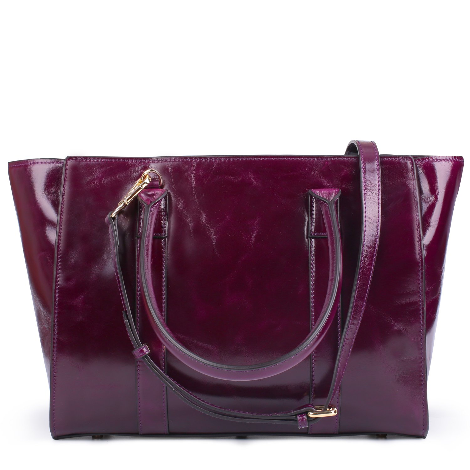 Amazon.com  Yafeige Women Top Handle Satchel Handbags Vintage Leather Tote  Purse Shoulder Bag Cross Body Handbag(Purple)  Shoes