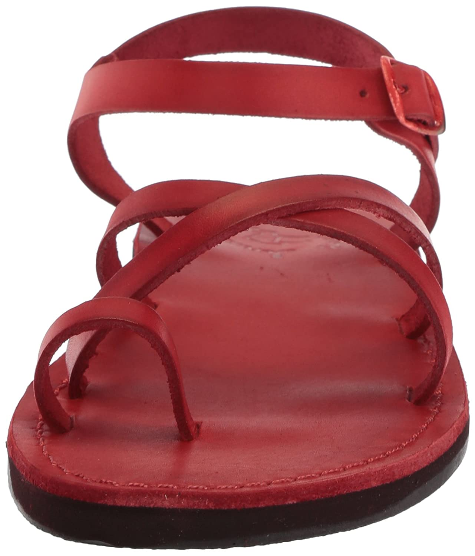 Jerusalem Sandals Women's Ava Sandal B075KYVYZL 42 Medium EU (11-11.5 US)|Red