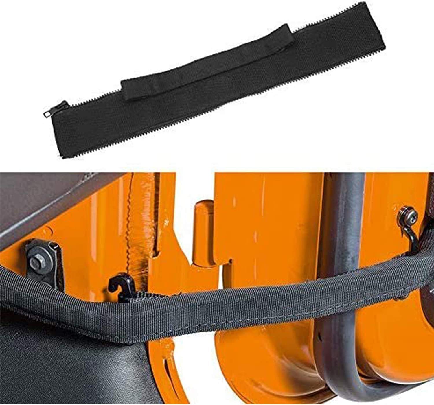 Door Straps Door Limiting Check Straps For Jeep Wrangler JK Black 2Pack