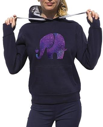 Elephant Sudadera Animal Capucha Ganesha Elephant Boho ...
