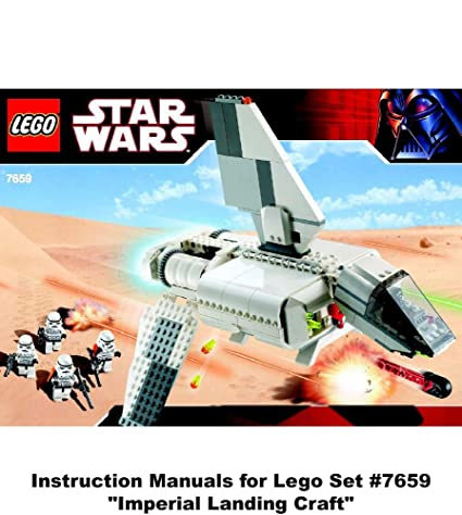 Amazon Instruction Manuals For Lego Star Wars Set 7659