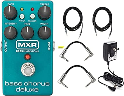 Dunlop MXR M83 Bass Chorus Deluxe w//4 Free Cables