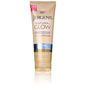 Jergens Natural Glow Firming Moisturizer, Fair to Medium Skin Tones width=