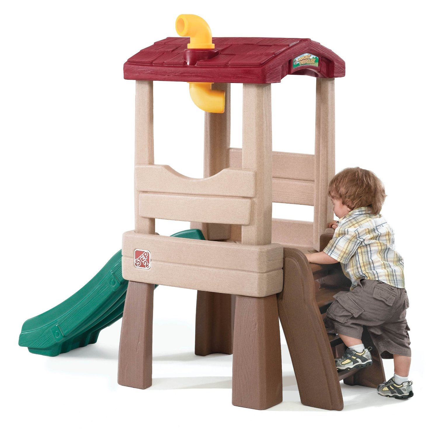 Tot Crawl Climber Slide Ladder Baby Toddler Interactive Play Treehouse Toy Fun by Living Better Now (Image #1)