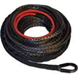 Ranger 6,000 LBs 3/16' x 50' UHMWPE Synthetic Winch Rope 5 MM x 15 M for ATV Winch