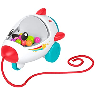 Fisher-Price Pull Along Rocket: Toys & Games