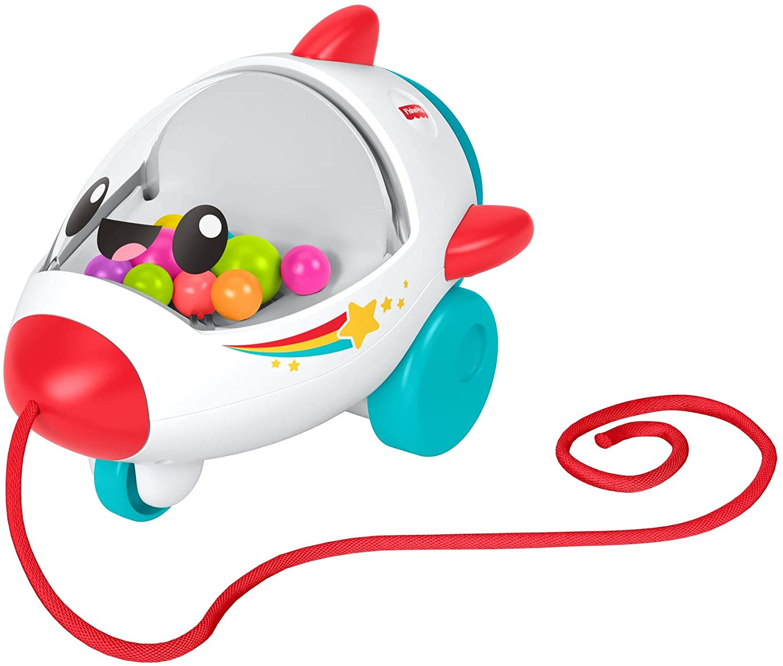 Fisher-Price - Cohete vamos de paseo Juguete de gateo para bebés +1 año (Mattel GCV74)
