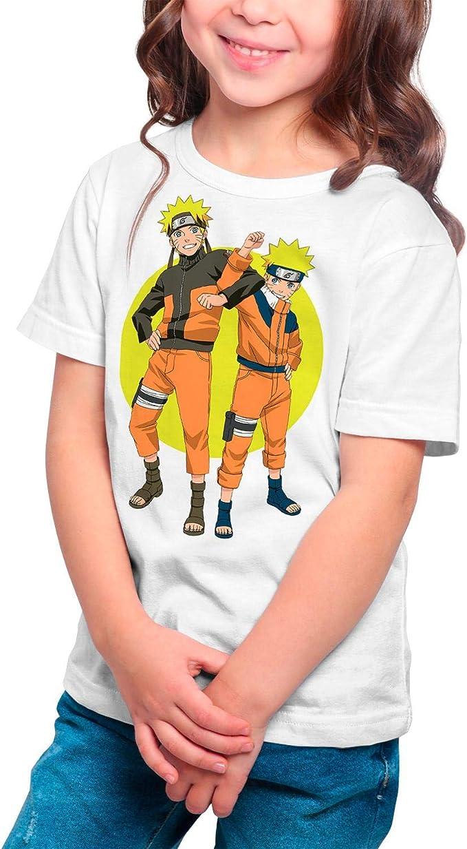 Camiseta Serie Manga y Anime Niña - Unisex Naruto: Amazon.es: Ropa y accesorios