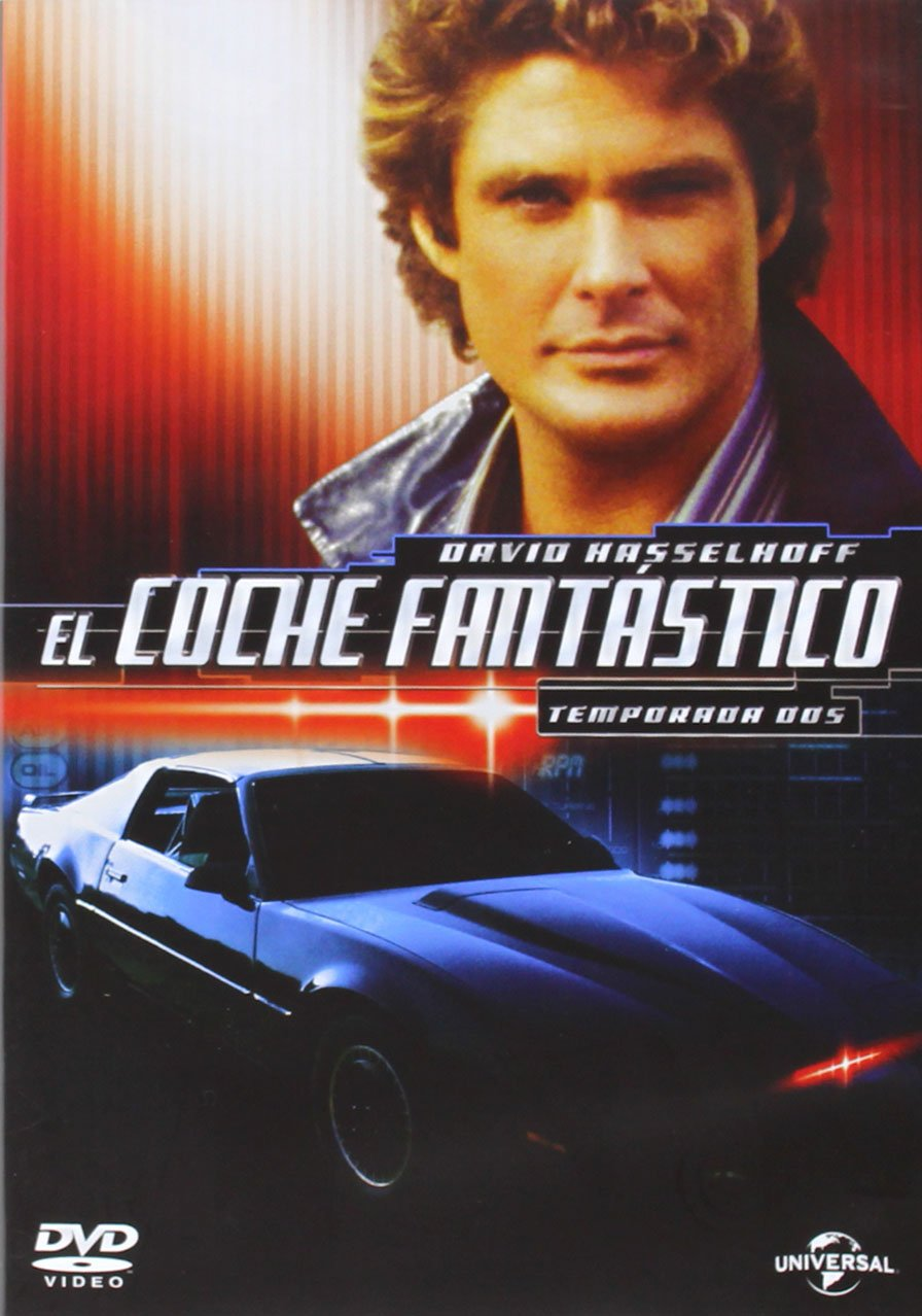 El Coche Fantástico Temporada 2 Dvd Amazon Es David Hasselhoff William Daniels Edward Mulhare David Solomon David Straiton J Miller Tobin Bryan Spicer David Hasselhoff William Daniels Glen A Larson Cine Y