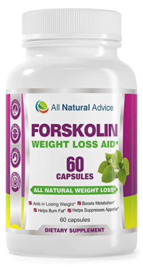 All Natural Advice Pure Forskolin Extract Formulated For Weight Loss For Melting Belly Fat Works 250mg Yielding 50mg Of Active Forskolin