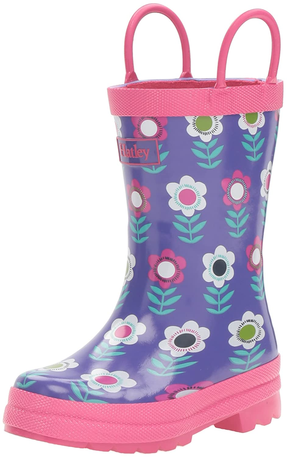 Hatley Nordic Flower Rainboot, Bottes Fille RB0CLOD293