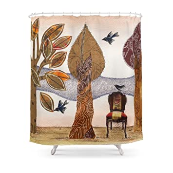 Society6 Take A Rest In Autumn Shower Curtain 71u0026quot; ...