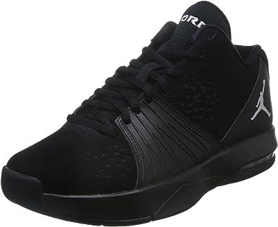 Jordan Men's 5 AM, BLACK/WHITE, 16 M US