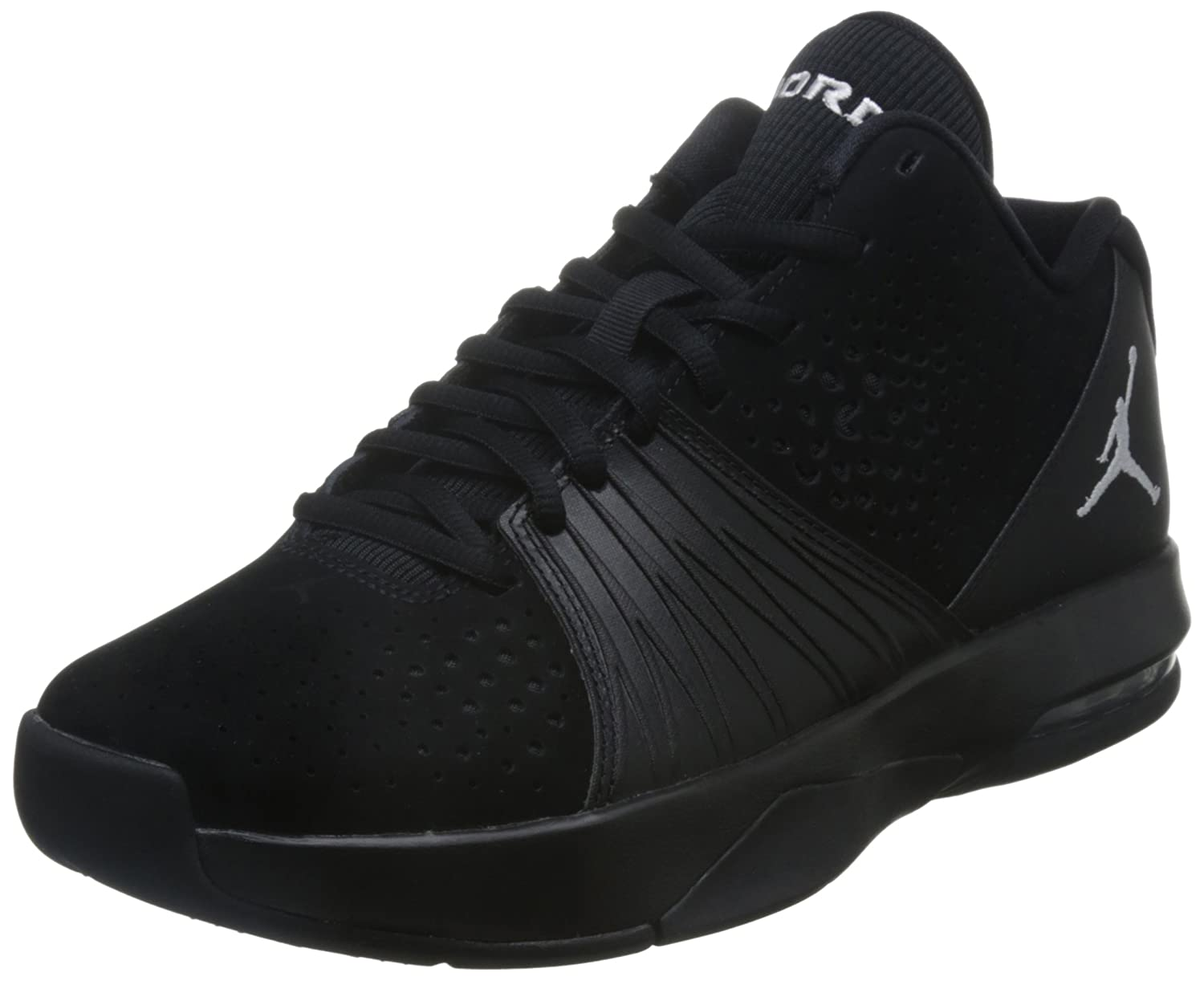 [807546-010] Air Jordan Jordan 5 AM Mens Sneakers Air JORDANBLACK White NOIRM B0166870UW 10 D(M) US|Black