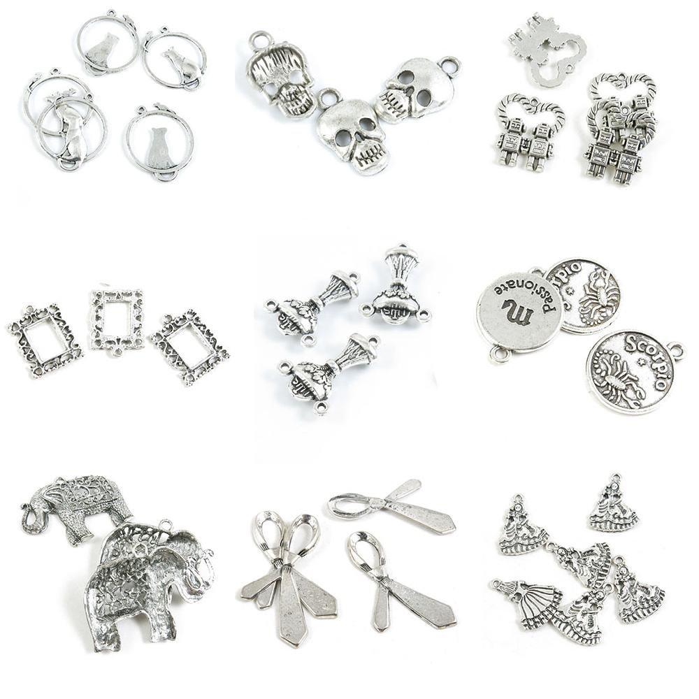 34 piezas de abalorios para hacer joyas, muñeca, niña, corbata ...