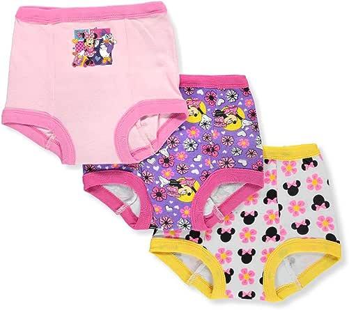 Disney Girls' Minnie Mouse 3pk Training Pant
