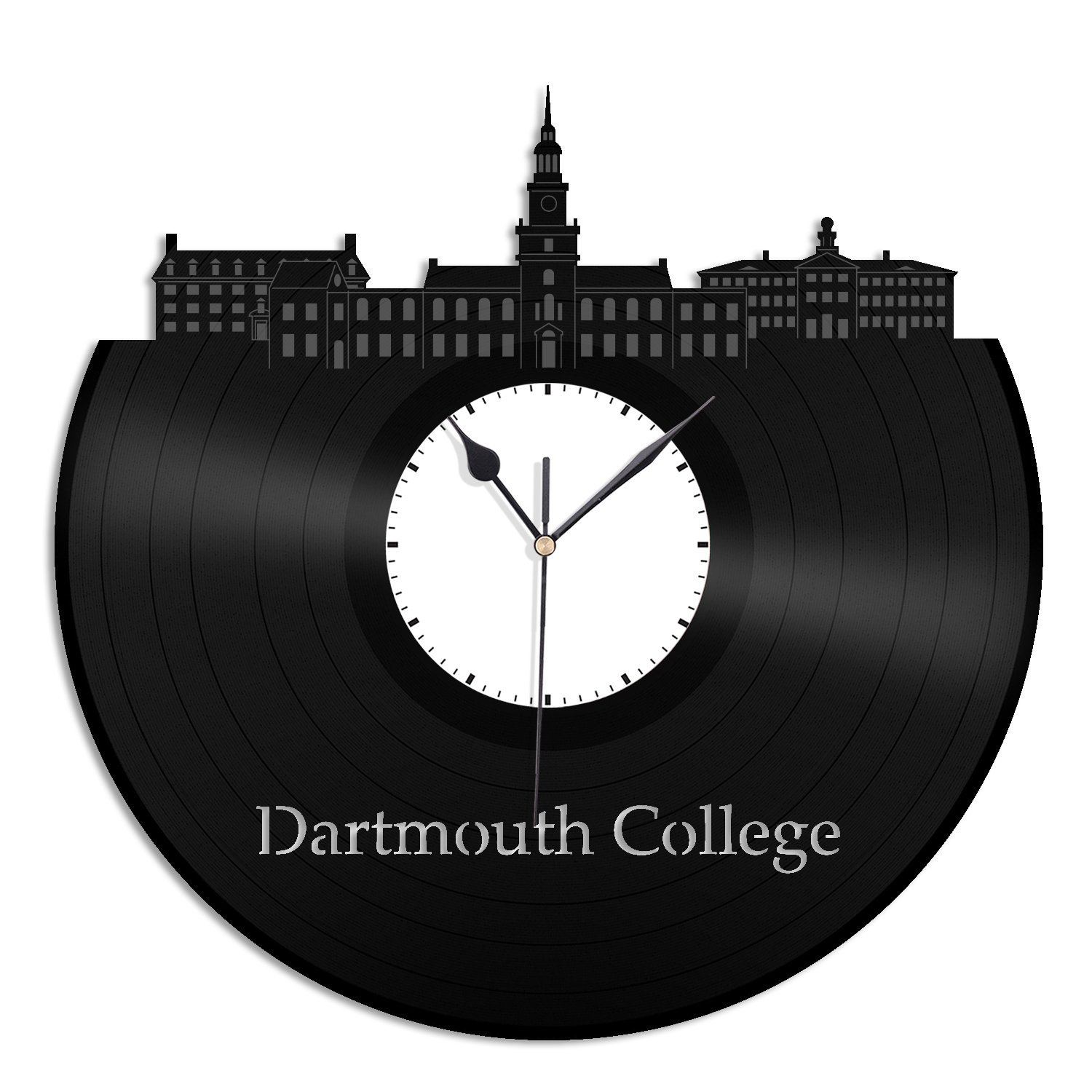 VinylShopUS - Dartmouth College Vinyl Wall Clock Skyline Unique Gift Student and Room   Home Decoration