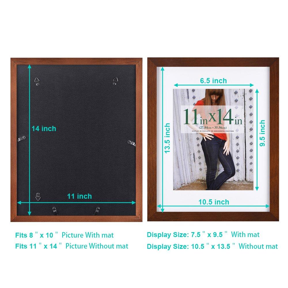 28x35 cm ( 11x14 inch ) Bilderrahmen aus Massivholz High Definition ...