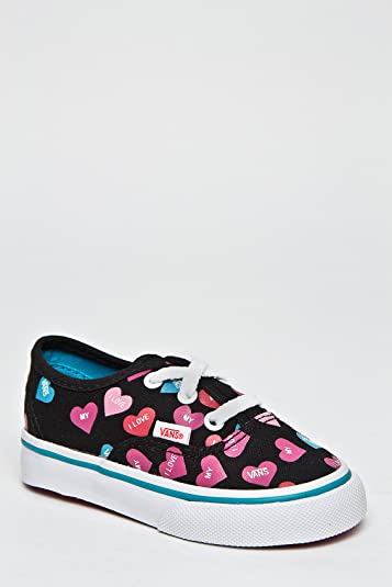 Vans Girls' Authentic , (Candy Hearts