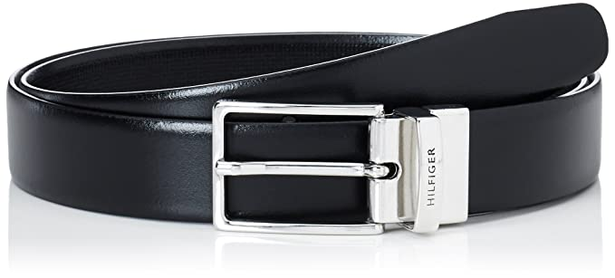 f2666280 Image Unavailable. Image not available for. Colour: Tommy Hilfiger Men's  TLD Mini Check Belt ...