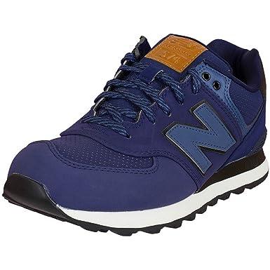 New Balance e Sneaker ML574 D Textil/Synthetik Dunkelblau