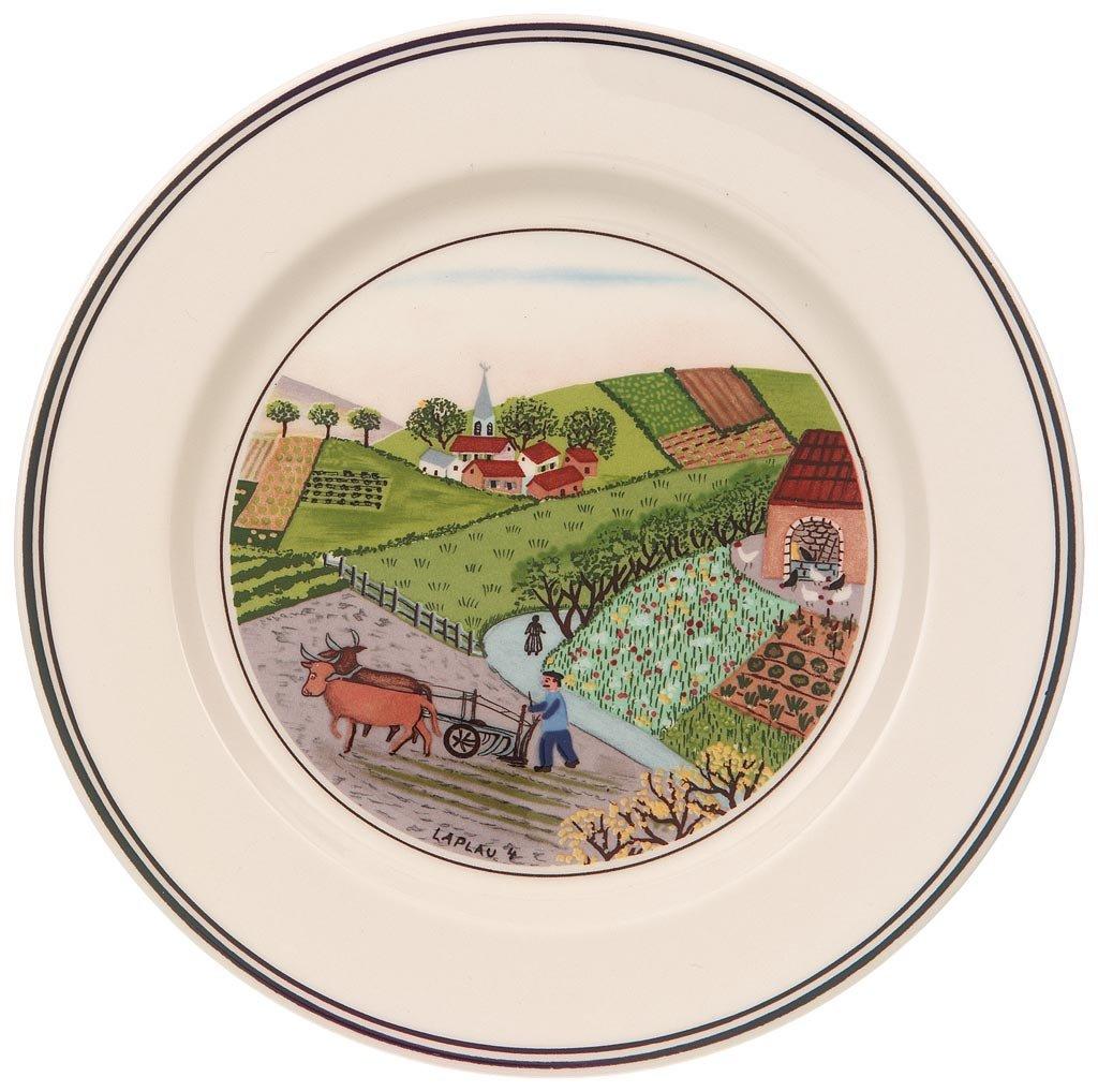 Villeroy & Boch Design Naif bread & butter plate # 4 Plowing 10-2337-2665