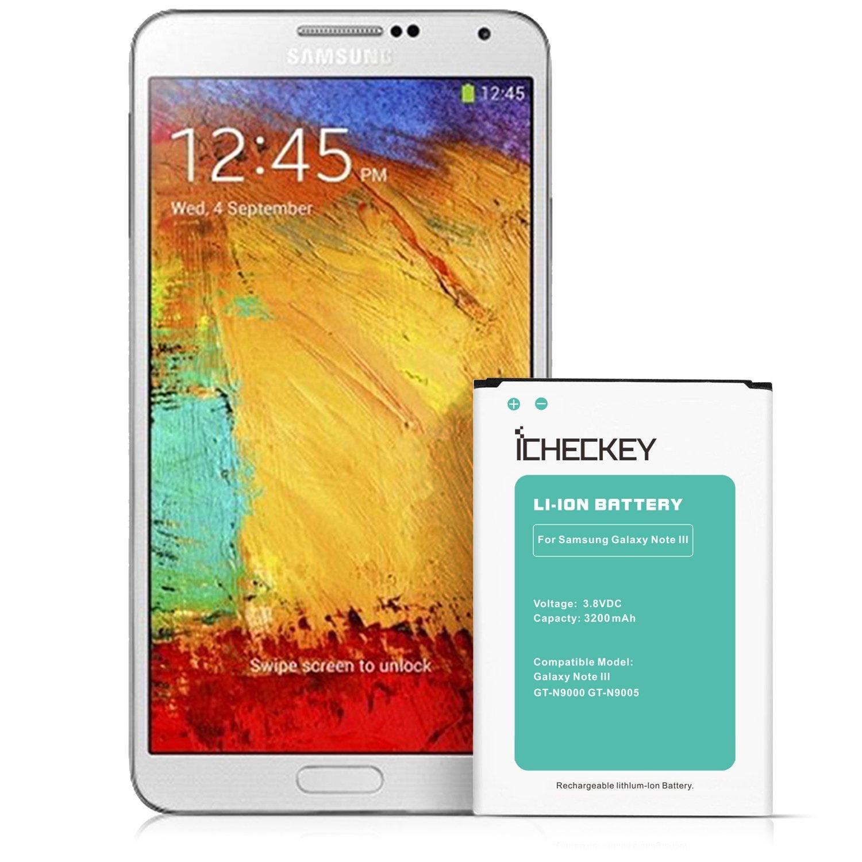Batería externa para Samsung Galaxy de ICHECKEY para Note 3 ...