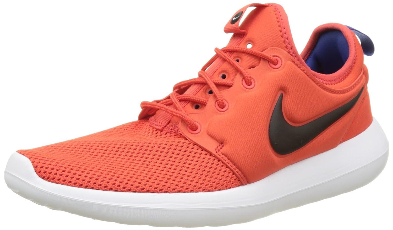 NIKE Men's Roshe Two Running Shoe B01N5OVGS1 8.5 M US|Max Orange/Deep Night/White/Black
