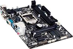 Gigabyte GA-H81M-D2V Desktop Motherboard - Intel H81 Chipset - Socket H3 LGA-1150 - Micro ATX - 1 x Processor Support - 16 GB DDR3 SDRAM Maximum RAM - Serial ATA/600, Serial ATA/300 - CPU Dependent Video - 1 x PCIe x16 Slot - 4 x USB 3.0 Port - GA-H81M-D2V