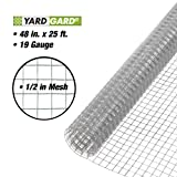YARDGARD 308226B Fence, 25 Foot, Silver