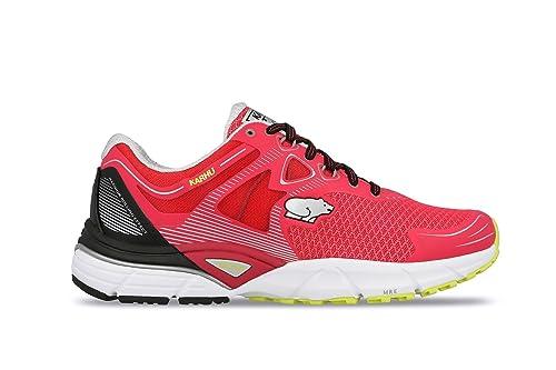 KARHU Zapatillas de running de Material Sintético para mujer RASPBERRY/JET BLACK 40.5 EU: Amazon.es: Zapatos y complementos