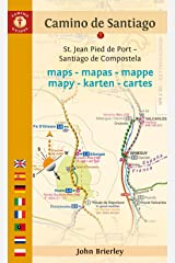 Camino de Santiago Maps: St. Jean Pied de Port - Santiago de Compostela (Camino Guides) (English and Dutch Edition) Paperback