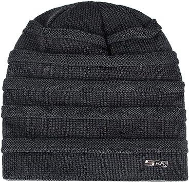 TwoCC-Sombrero de punto, gorro de lana estándar para hombres de ...