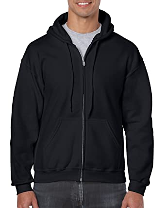 d4e3a5d7c Amazon.com  Gildan Men s Fleece Zip Hooded Sweatshirt  Clothing