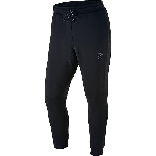 910ddf1aa Amazon.com: Nike Air Hybrid Men's Joggers Black/Black 727365-010 ...