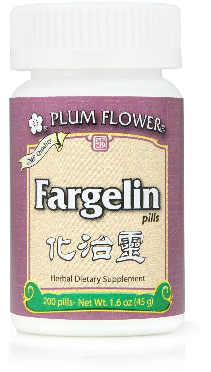 Fargelin Pills, Hua Zhi Ling Wan, 200 Pills, Plum Flower