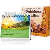 Cada día con su frase―SABIDURÍA BÍBLICA: Un diario Quotebook en práctico formato de