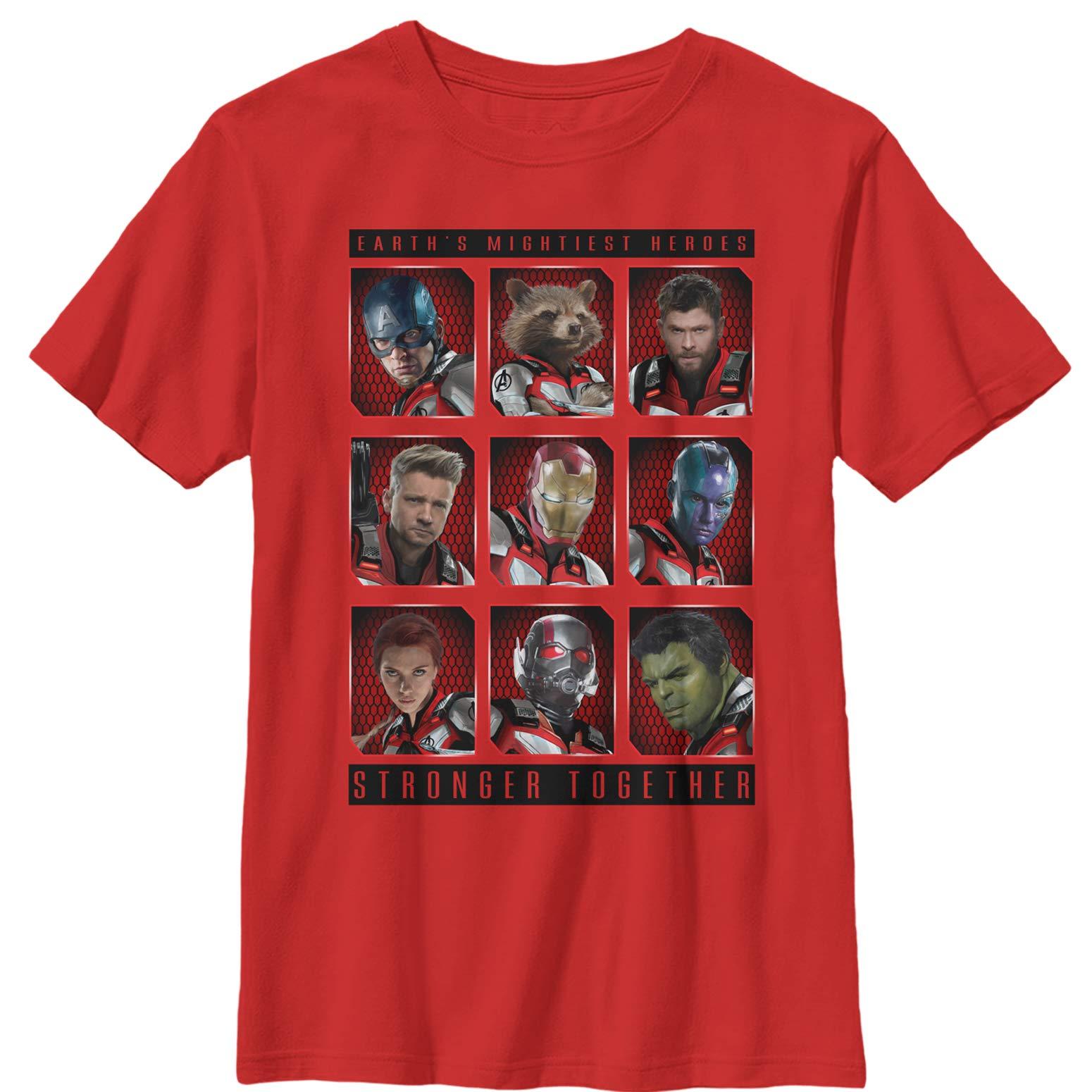 Endgame Stronger Together Bingo T Shirt 5572