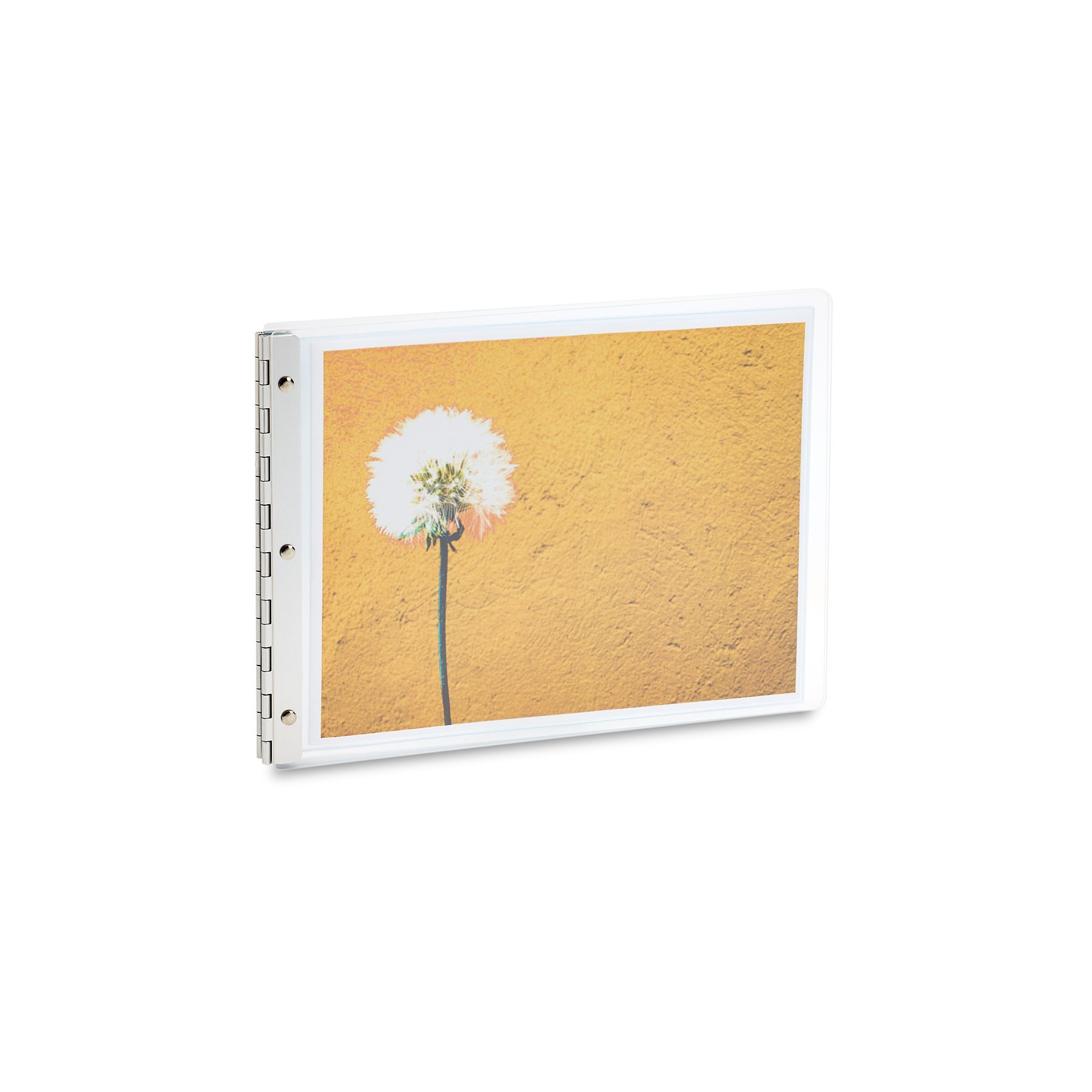 Pina Zangaro Flexx Ice Screwpost Binder, 8.5x11 Landscape (34948) by Pina Zangaro
