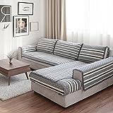 JINGJIE Funda de sofá,Estilo del Norte de Europa Protector para sofás Paño Four Seasons General Acolchado Funda para sofá Vendido por Pieza-A 70x50cm(28x20inch)