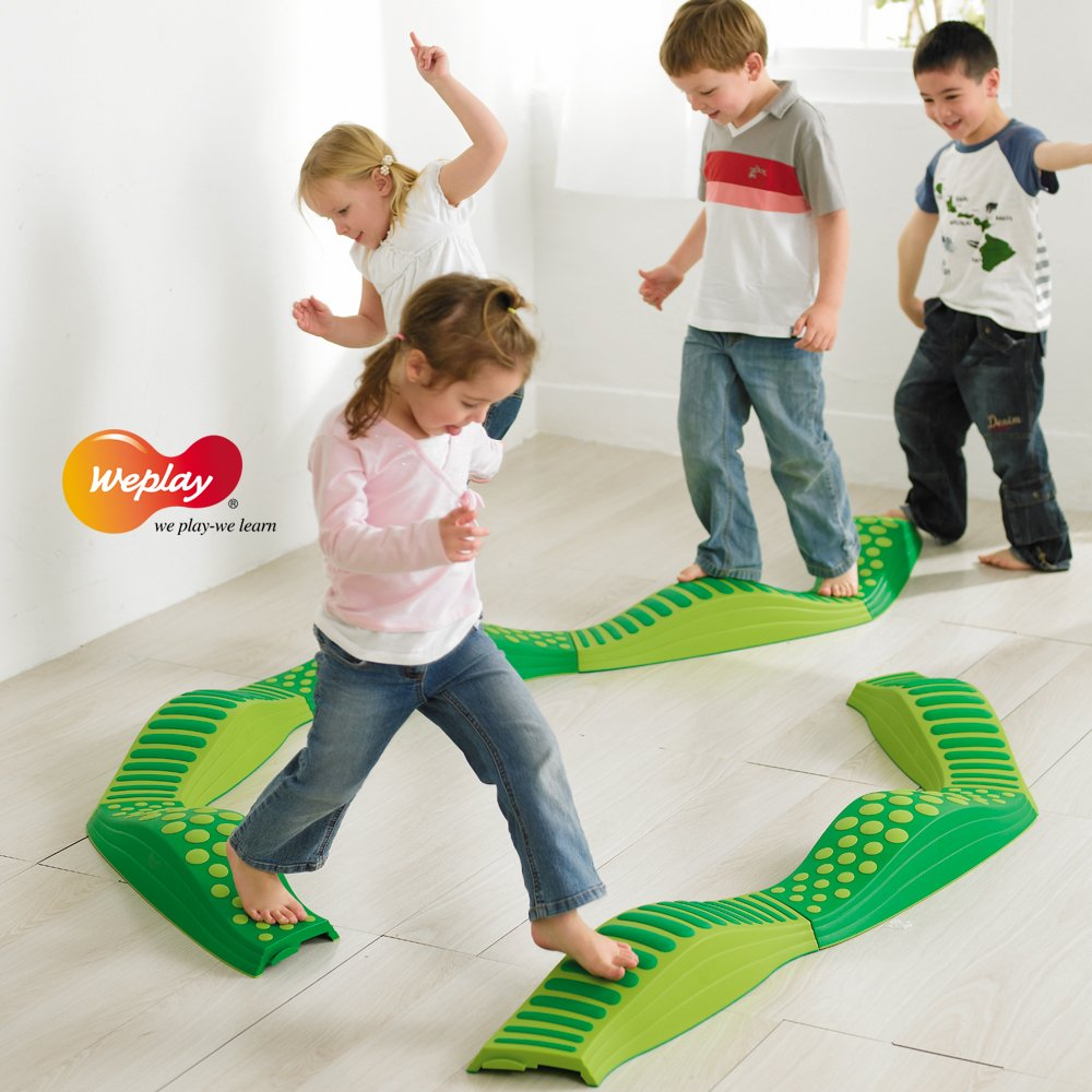 Weplay Wavy Tactile Path, Green by Weplay (Image #1)